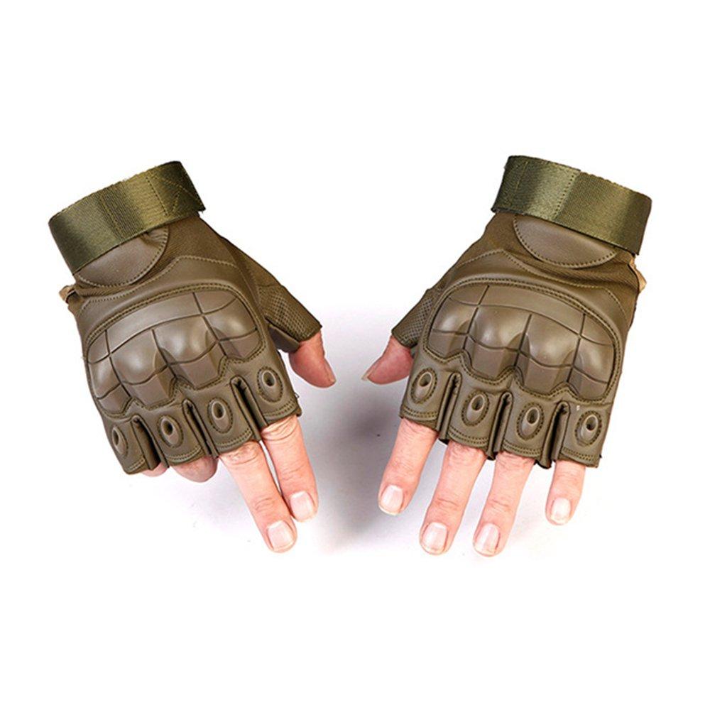 merymall 1 paio di guanti da taglio anti-taglio da combattimento dell'esercito militare per lo sport Outdoor Fighting protettivo