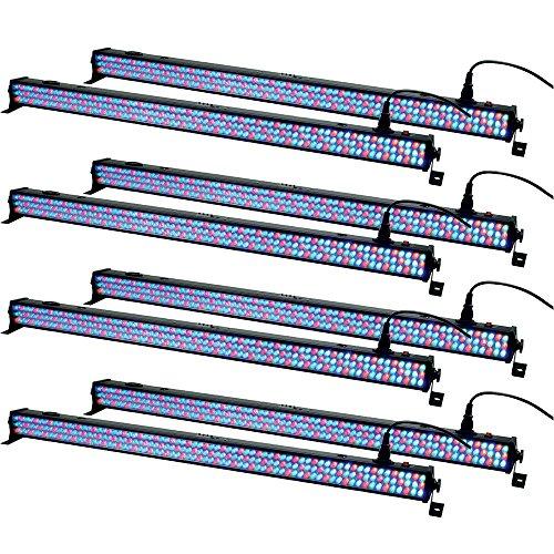 Solena Max Bar 28 RGB LED Linear Bar Wash Light 8-Pack