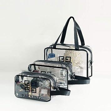 fb127e289494 Amazon.com: min Transparent Travel Packing Cubes Waterproof Shoes ...