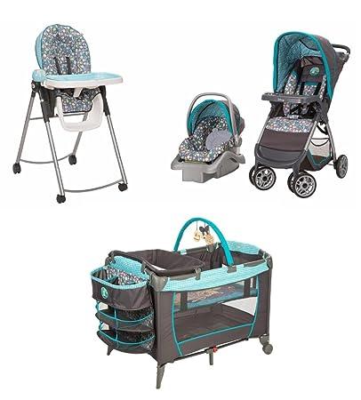 e0f152890 Amazon.com   4 Piece Winnie the Pooh Newborn Set Stroller Car Seat ...