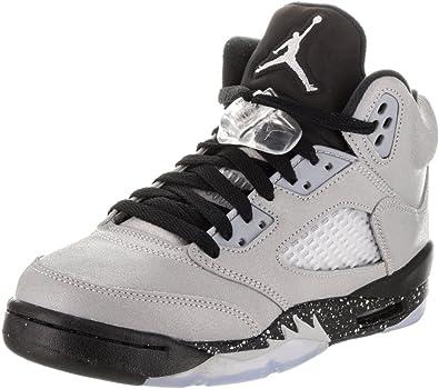 delicate colors lowest price hot sales Nike Air Jordan 5 Retro GG, Chaussures de Basketball Femme: Amazon ...