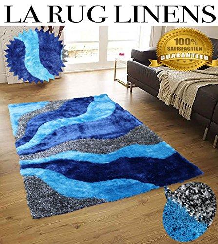 aqua colored rug - 8
