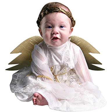 Amazon.com: Cute Baby Girl Infant Angel Halloween Costume (6-18 ...