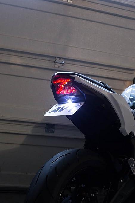 AVT Ninja 650 / z650 Fender Eliminator Kit 17-19 - Integrated Turn Signal Tail Light
