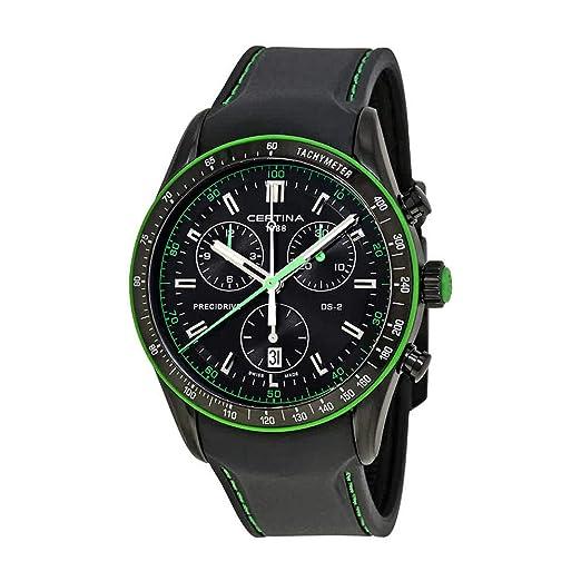 CERTINA DS-2 CHRONOGRAPH 1/100 SEC RELOJ DE HOMBRE CUARZO C024.447.17.051.22: Amazon.es: Relojes