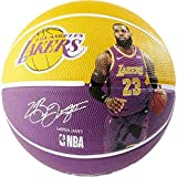 "Spalding NBA Lebron LA Lakers 29.5"" Outdoor Rubber"