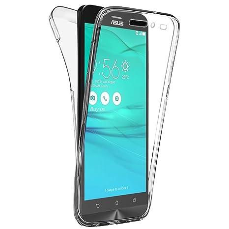 Coque Asus ZenFone 3 Go ZB552KL 55 Pouces Gel 360 Degres Protection