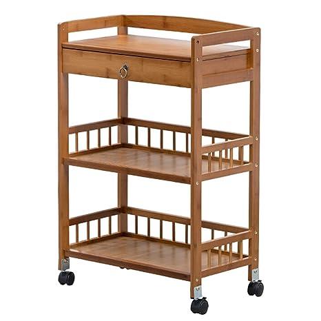 Admirable Amazon Com Utility Serving Trolley Bamboo Board Tea Drink Beatyapartments Chair Design Images Beatyapartmentscom