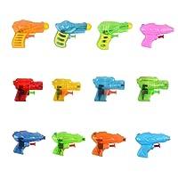 Fun-Here Squirt Guns Fun Sommer Spielzeug für Kinder Erwachsene, Multicolor Wasserpistole Blaster in Buck Party Pool Bath Favors Outdoor Indoor Spielzeug (12er Pack)