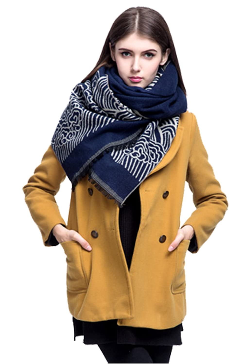 Fashion Winter Women Shawl Brand Luxury Cashmere Scarf