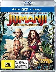 Jumanji - Welcome to the Jungle 3D (Blu-ray 3D/Blu-ray)