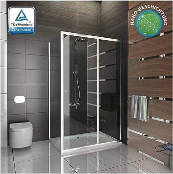Ducha/cabina de ducha de cristal/vidrio de seguridad/ducha x 120 x ...