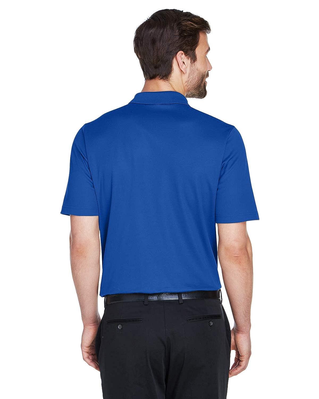 A Product of Devon /& Jones CrownLux Performance Mens Plaited Polo Bulk Disco French Blue