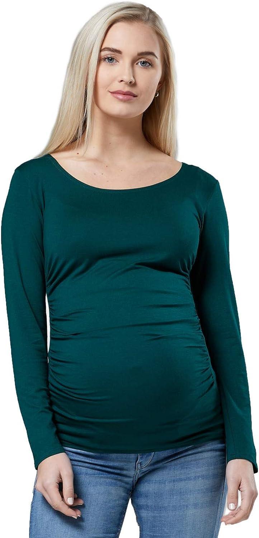 Happy Mama Femme 458p Top bol/éro maternit/é T-Shirt Chemisier dallaitement
