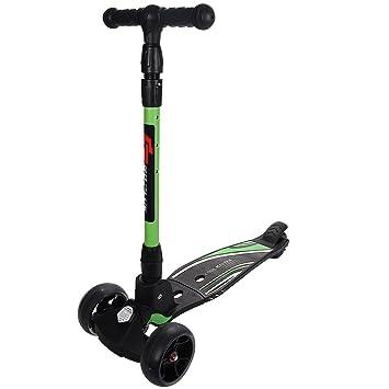 Patinete Scooter de niño y adulto altura ajustable roller 3 ...