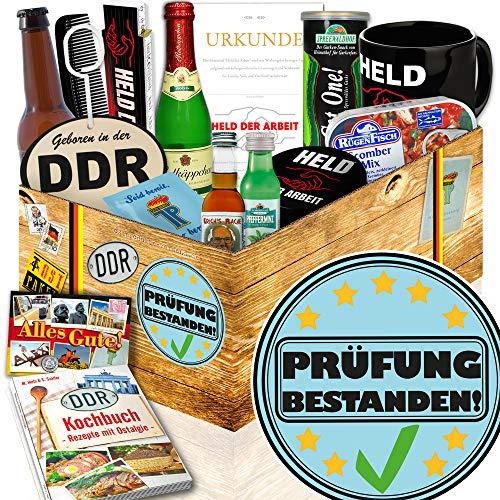Prüfung bestanden / Geschenk Freundin Prüfung / Männer Box DDR