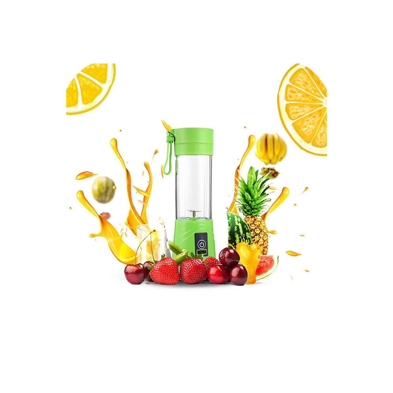Multifunctional Mixing Blender Electric USB Portable Juicer Cup Blender Mini Household Fruit Mixer Personal Smoothie Blender,PE15 Green