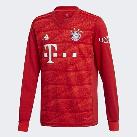 adidas 2019 2020 Bayern Munich Home Long Sleeve Football
