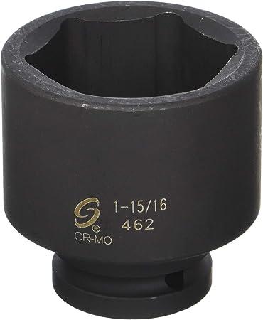 Sunex 462D 3//4 Drive Deep 6 Point Impact Socket 1-15//16