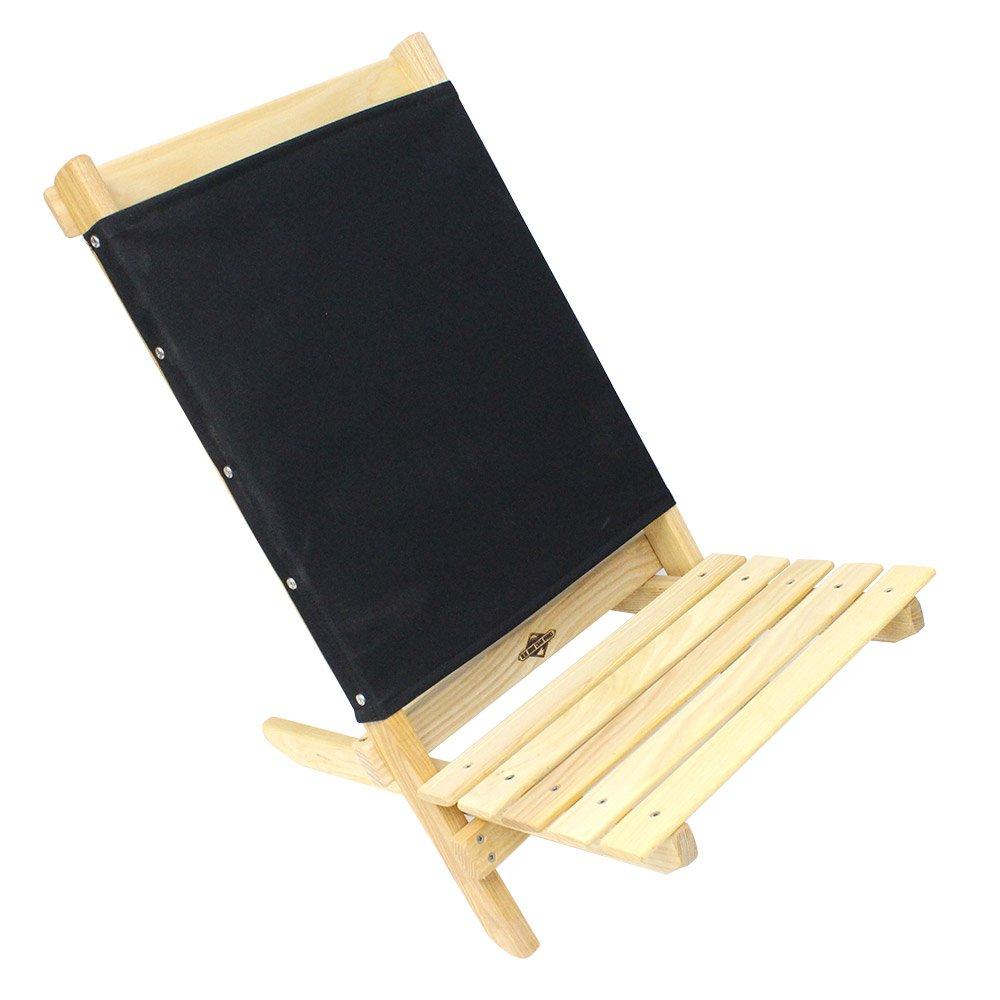 (ブルーリッジチェアワークス) Blue Ridge Chair Works『フェスティバルチェア With ボトルオープナー』 B00LKCGIIK One Size|ブラック ブラック One Size