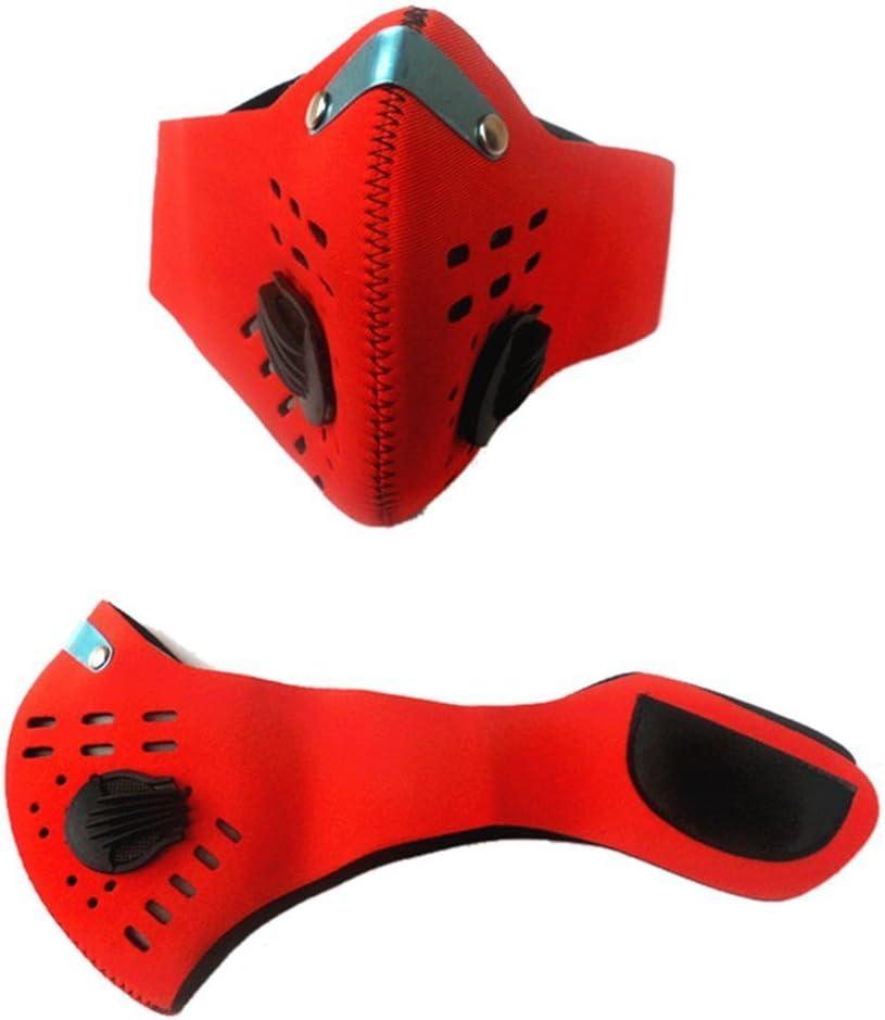 YuNo montaña Ciclismo máscara mascarilla antiniebla y bruma de carbón Activado pm2,5supresión
