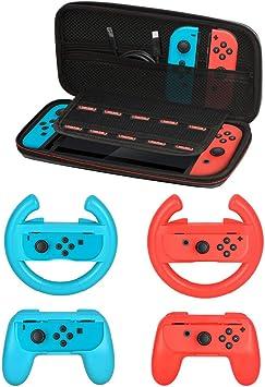 Kit de Accesorios para Nintendo Switch Games Starter, 2 x Volante ...