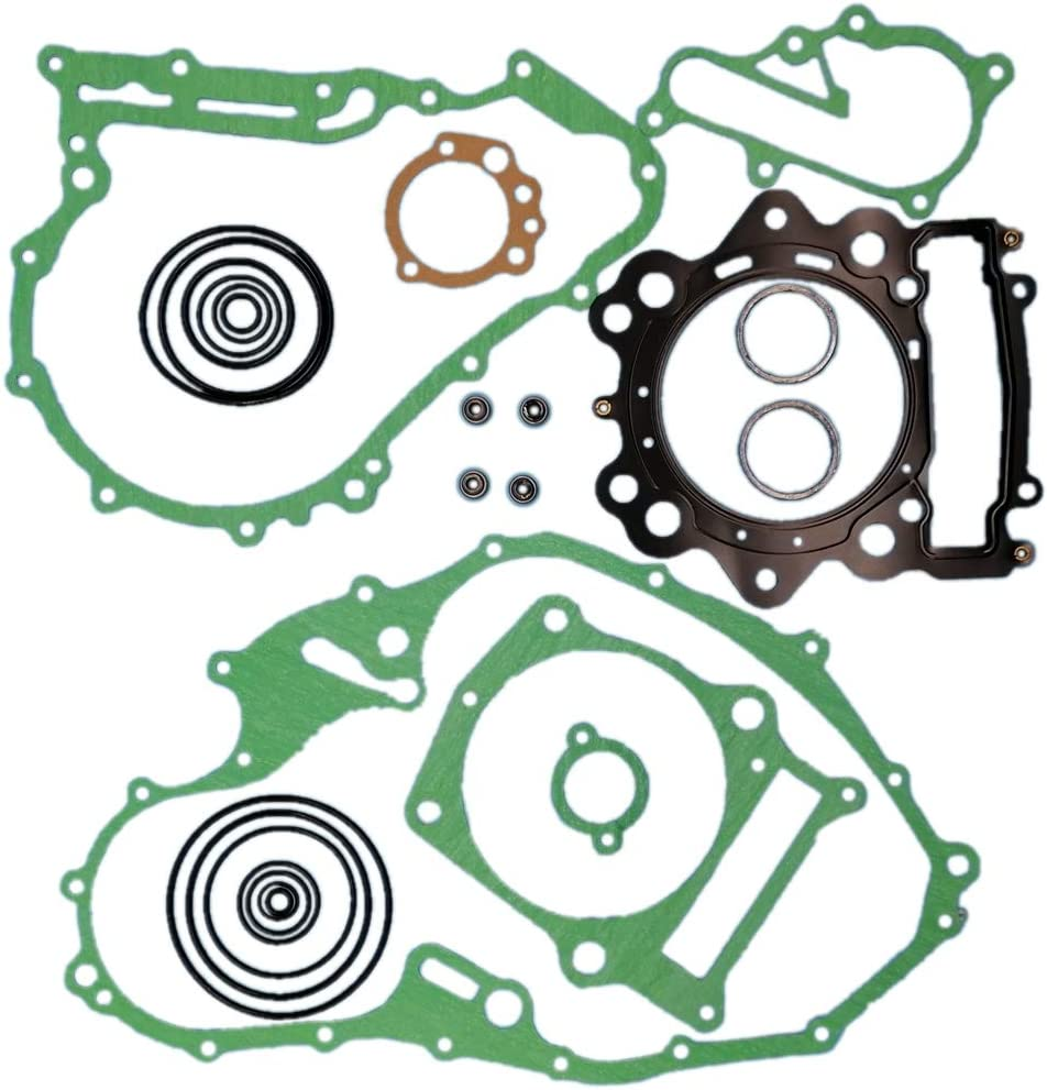 Tuzliufi Replace Complete Rebuild Head Top Bottom End Engine Gasket Set Kit Raptor 700 700R R 2006 2007 2008 2009 2010 2011 2012 2013 2014 New Z488