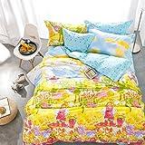 Brandream Kids Bright Color Prince Bedding Set Cartoon Duvet Cover Full Size