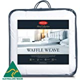 Tontine Hotel Collection Waffle Weave All Seasons Australian Made Quilt (Single)