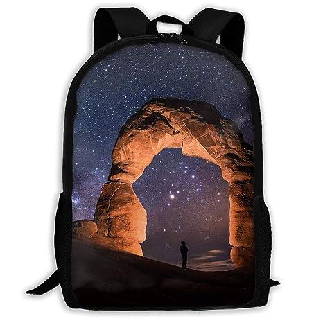 Amazon Com Ysikfk Light Painting Starry Night Arches