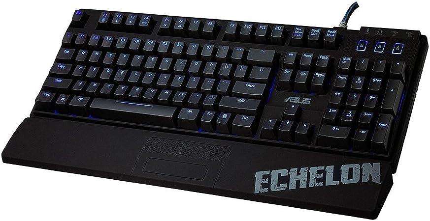 ASUS Echelon Mech - Teclado mecánico Gaming (Cherry MX Negro) - QWERTY español
