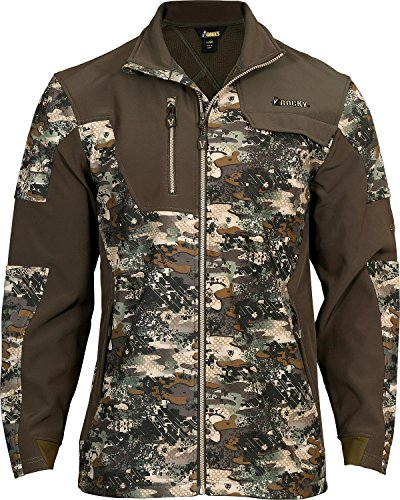 Rocky Mens Venator Camouflage 2 Layer Jacket  Camouflage  X Large
