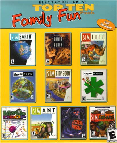 Electronic Arts Top Ten Family Fun Pack - PC