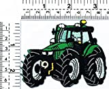 Backhoe Digger Tractor Loader Tractor Crawler Plow Farm Truck kids cartoon patch Applique for Clothes Great as happy birthday gift