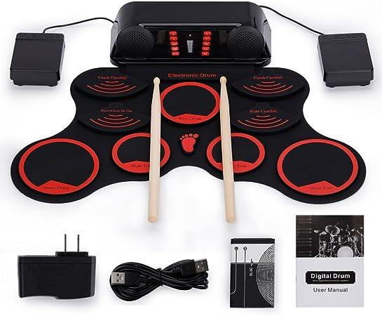 Roll-Up Drum Kit Portable Electronic Dru