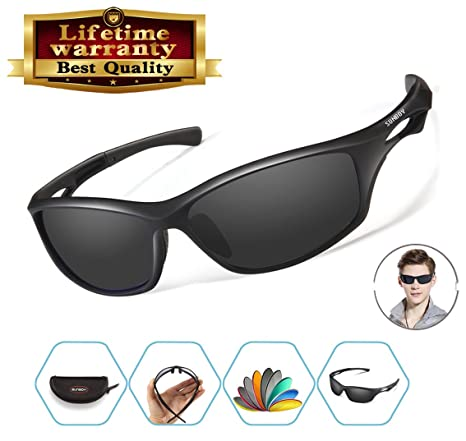 b4daaceee7 Image Unavailable. Image not available for. Color  Polarized Sports  Sunglasses ...