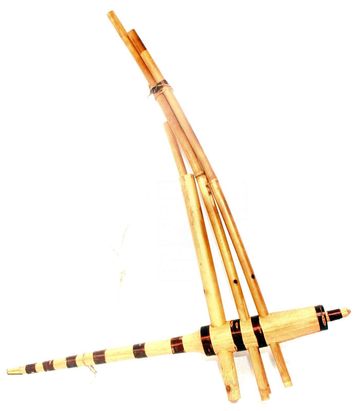 Terrapin Trading Ltd Fair Trade Bamboo Vietnamese Khen Khene Khaen Hmong 71cmx58cmx3.5cm by Terrapin Trading Ltd