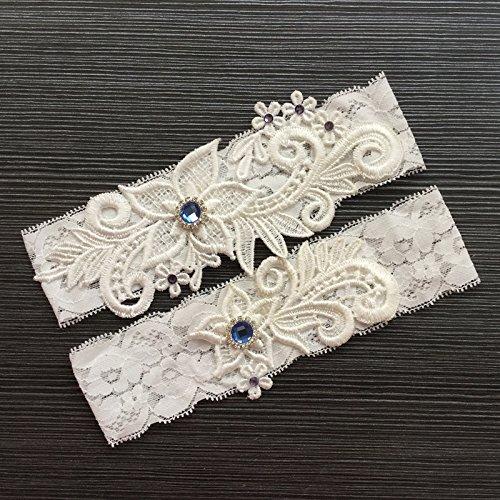 Tradition Of Wedding Garter: Bueer Wedding Bridal Lace Garter Set Keepsake Toss