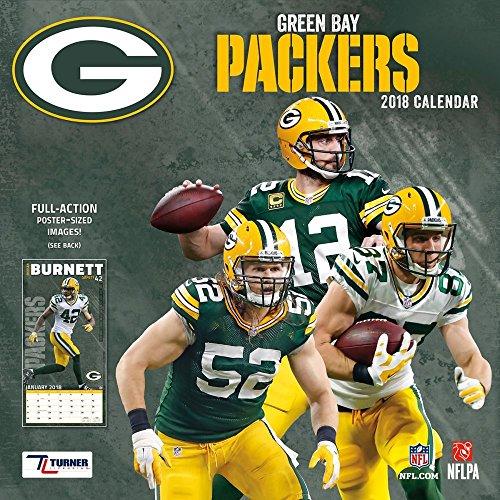 NFL Green Bay Packers 2018 Wall Calendar