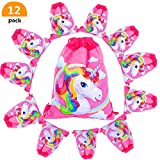Unicorn Gift Bags/Party Bags Drawstring Shoulder Backpack for Party Favor birthday