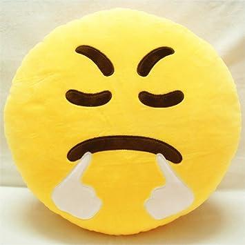 Redonda Emoji cojín almohada peluche juguete (Fast and Furious)