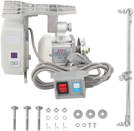 Motor de la máquina de coser, motor sin escobillas mudo ajustable de 220V 550W CA para máquinas de coser industriales: Amazon.es: Hogar