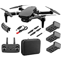 KESOTO Mini Drone WiFi HD FPV Foldable RC Quadcopter 4CH 2.4Ghz Remote Control Headless [Altitude Hold] Super Easy Fly…