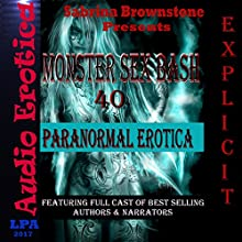 Monster Sex Bash: 40 Paranormal Erotica Audiobook by Sabrina Brownstone Narrated by Sabrina Brownstone