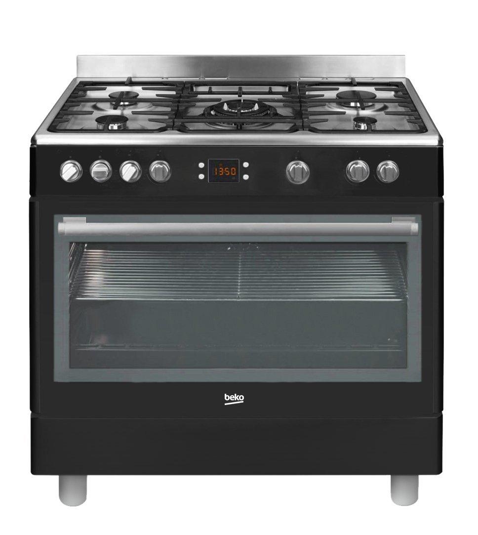 Beko GM15310DB - Cocina (Cocina independiente, Negro, Giratorio ...