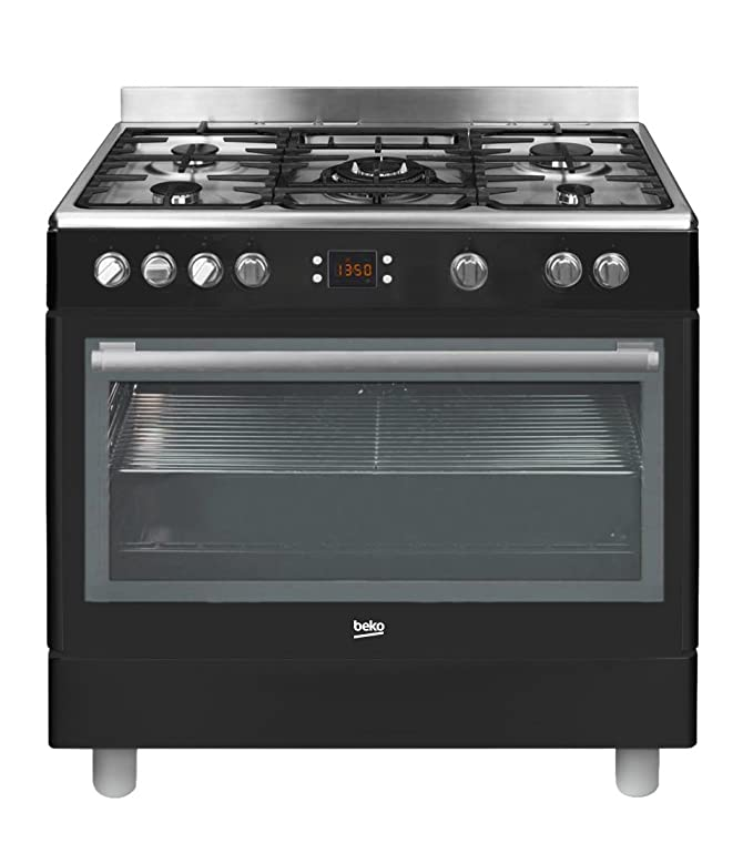 Beko GM15310DB - Cocina (Cocina independiente, Negro, Giratorio ...