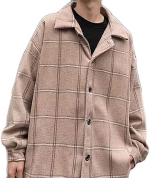 [ンーセンー] メンズ ジャケット スタジャン 長袖ジャンパー アウター ゆったり おしゃれス 春秋冬服 メンズ ブルゾン オーバーサイズ コート ハンサム カッコイイ