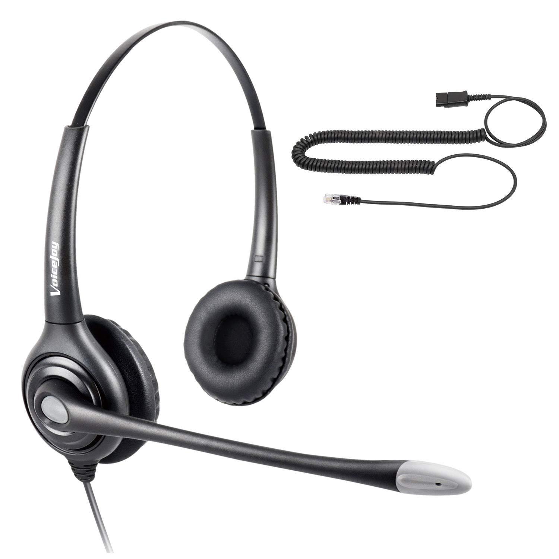 Call Center Binaural Headset w: Amazon in: Electronics