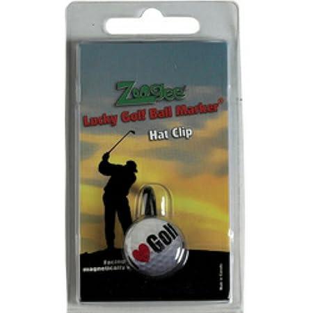 J y M Zoogee I Love Golf Hat Clip: Amazon.es: Deportes y ...