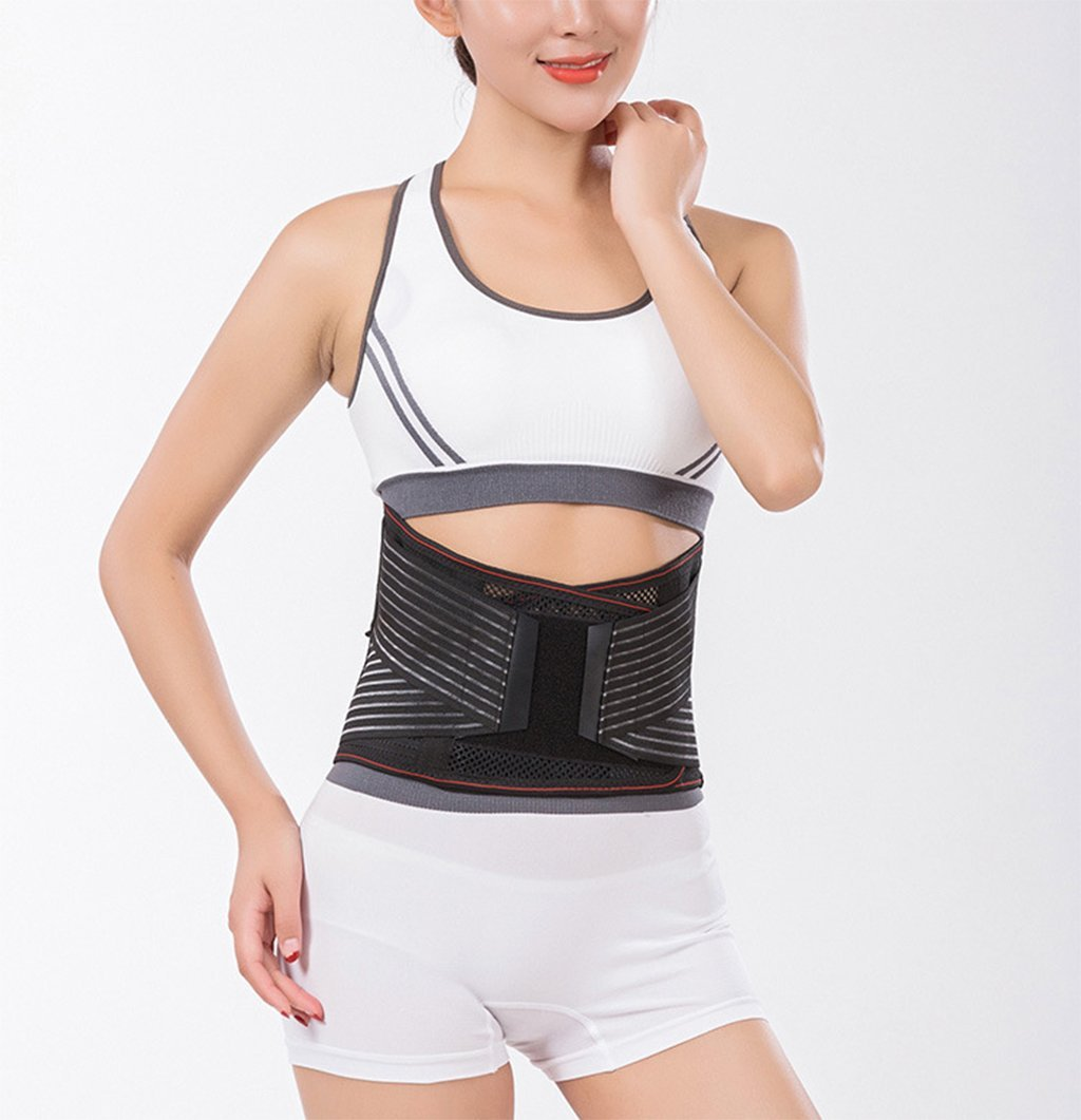 a4bfcb3462 Amazon.com  Waist Trimmer Belt Breathable Belts